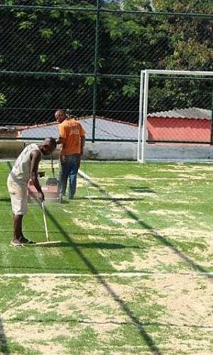 Construção de campo
