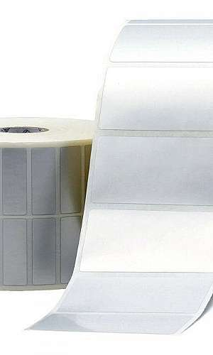 Etiqueta adesiva removível