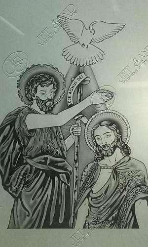 Jateamento de Imagens Religiosas