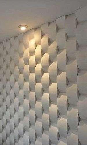 Molduras de gesso 3D para parede